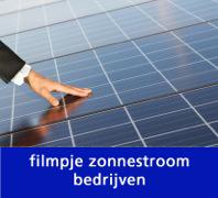 Filmpje zonnestroom bedrijven