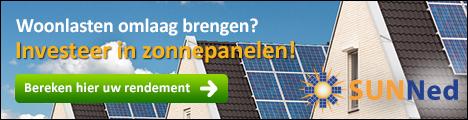 Woonlasten omlaag brengen? Investeer in zonnepanelen!